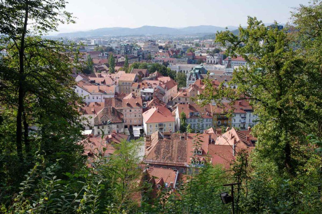 Montée au château de Ljubjlana