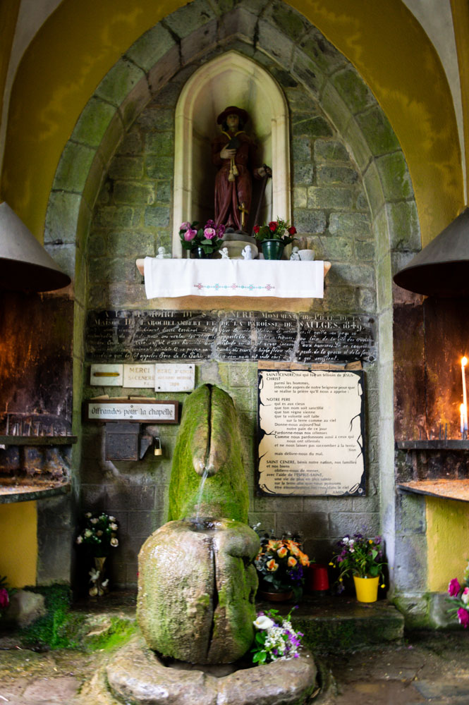Oratoire de Saint Cénéré à Saulges