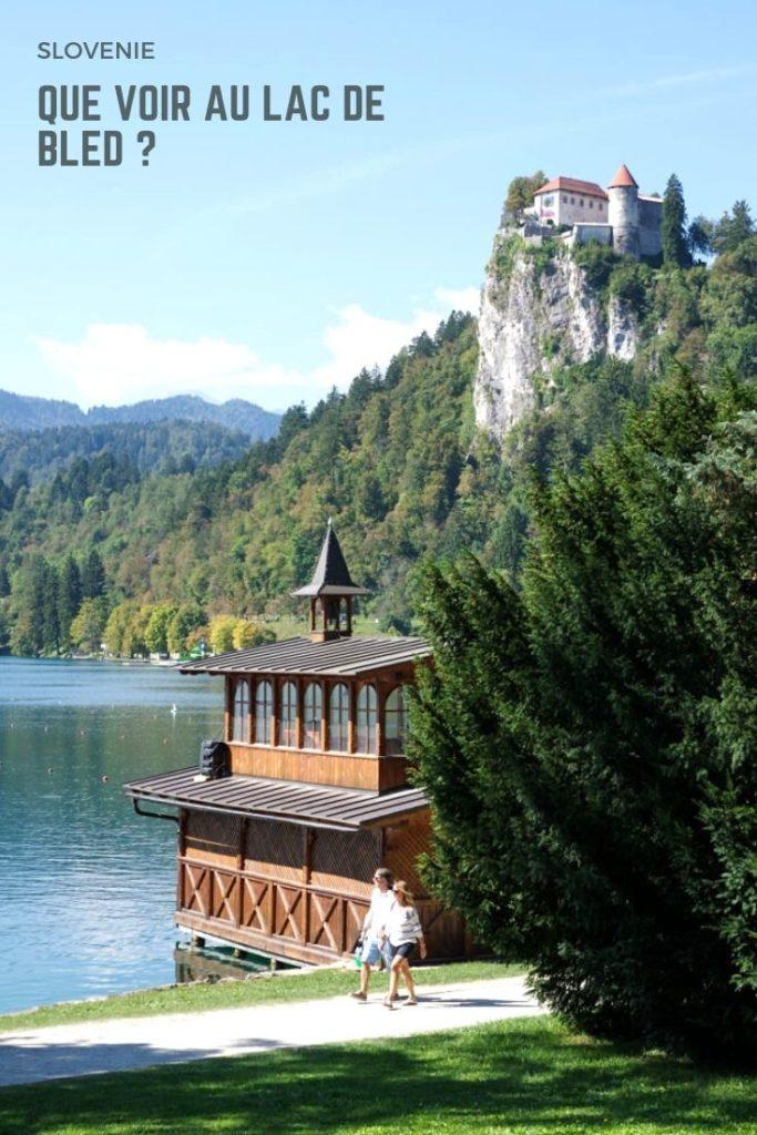 Que voir autour du Lac de Bled en Slovénie ? Idée de randonnée et visite du château et de l'île de Bled