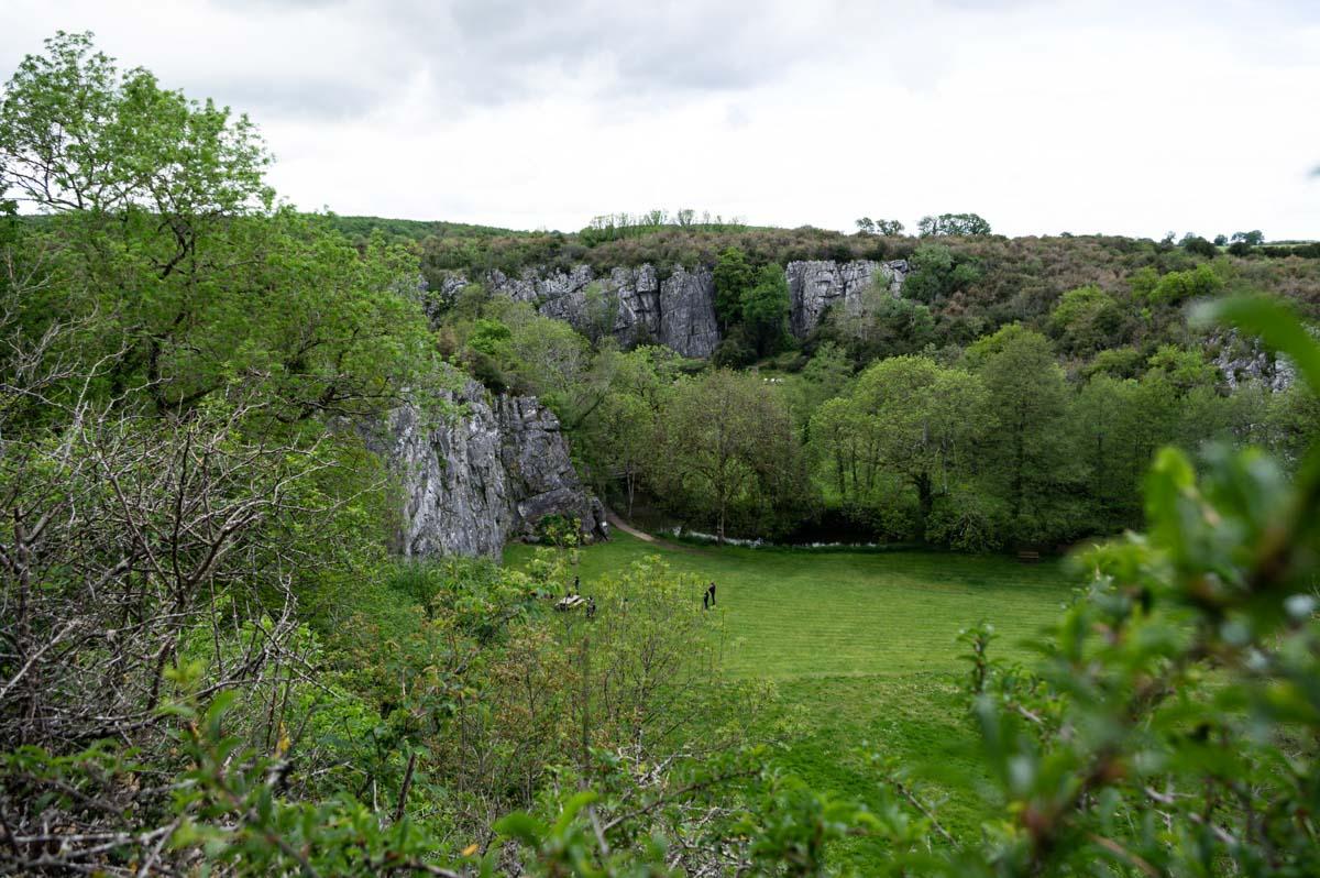 le canyon de Saulges