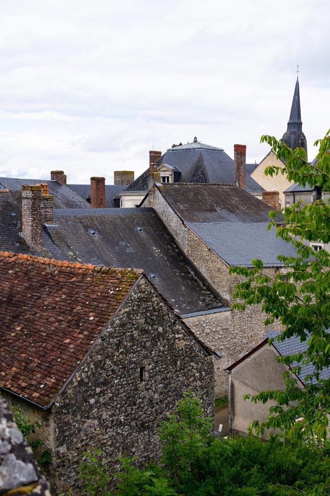 les toits de Sainte Suzanne