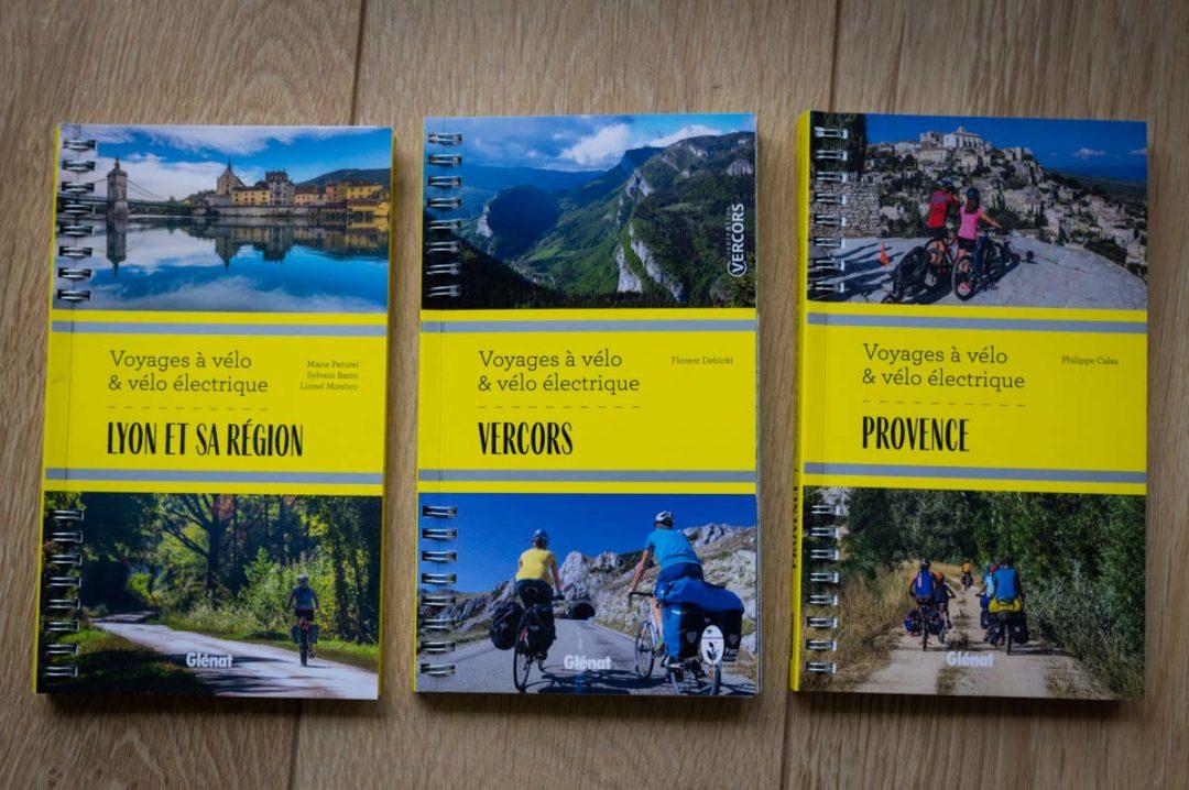 collection voyage à vélo et vélo électrique chez Glénat