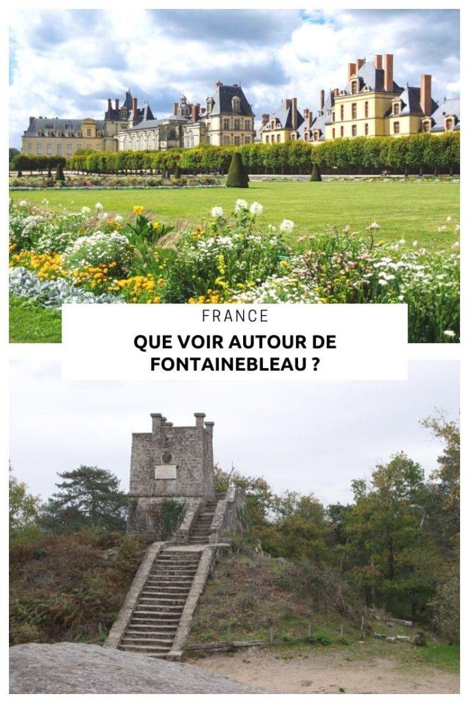 Que voir à Fontainebleau et ses environs en un week end ? Visite du Château, randonnée dans la Forêt de Fontainebleau et visite du village des peintres de Barbizon