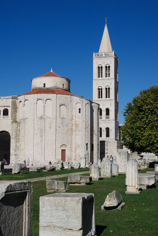 Basilique Saint Donat à Zadar