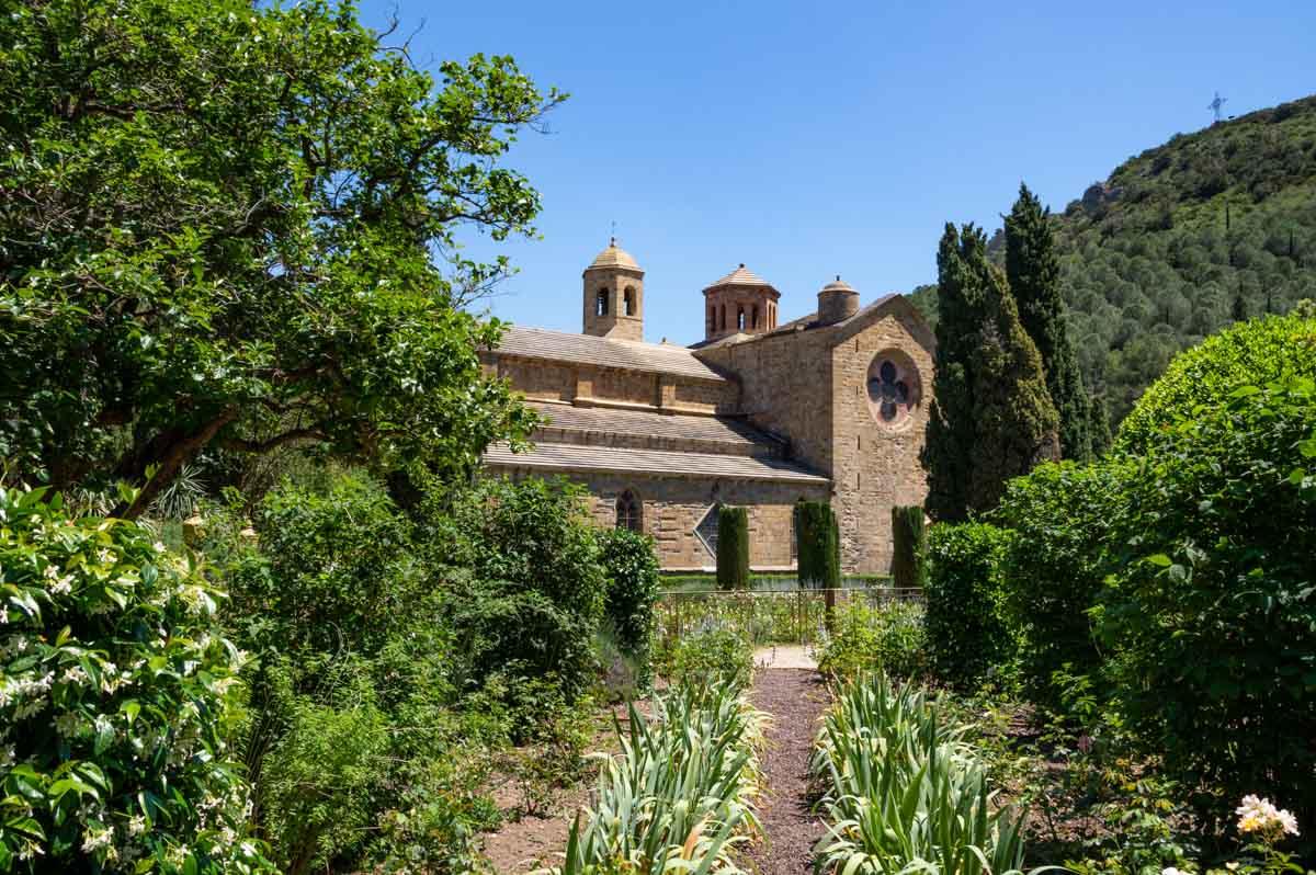L'Abbaye de Frontfroide pres de Narbonne