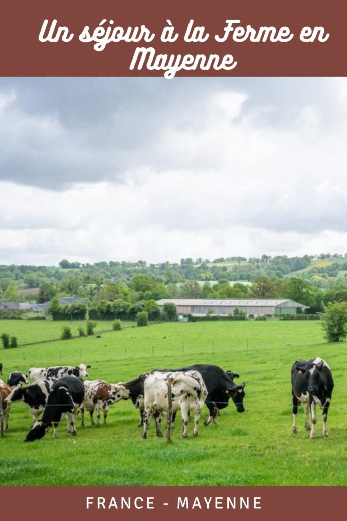 Des vacances à la ferme en Mayenne avec Accueil Paysan : slowtravel, randonnée et rencontres