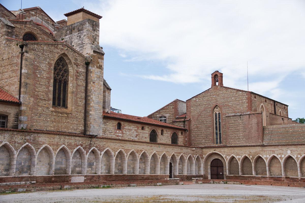 la basilique de Perpignan