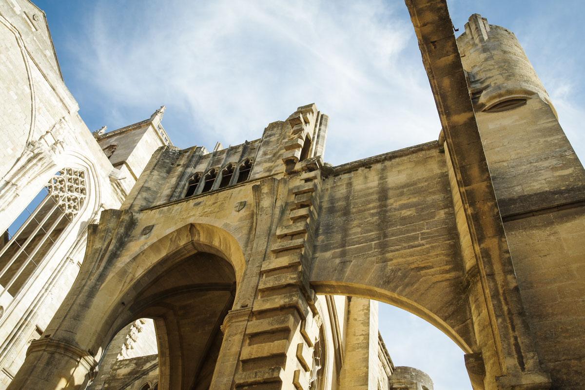 la cathédrale inachevée de Narbonne