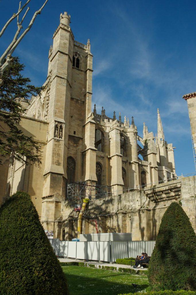 détail de la cathédrale inachevée de Narbonne