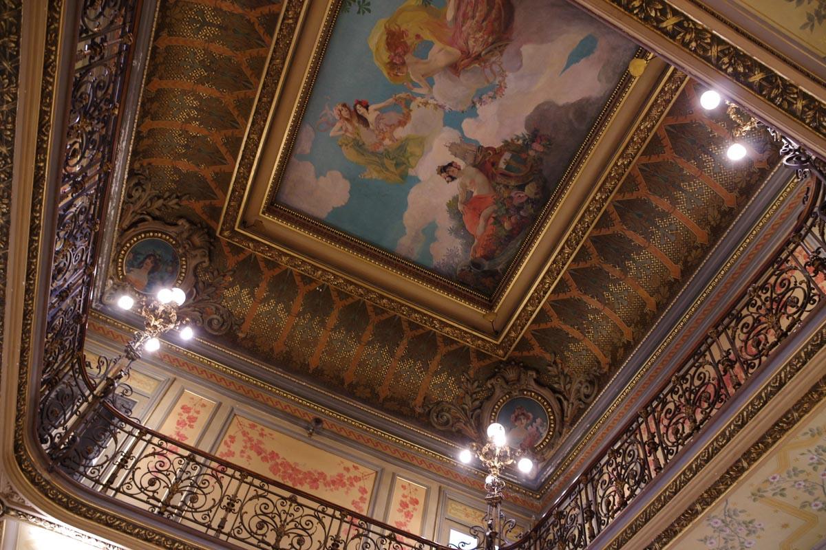 Intérieur de l'hôtel Pams à Perpignan