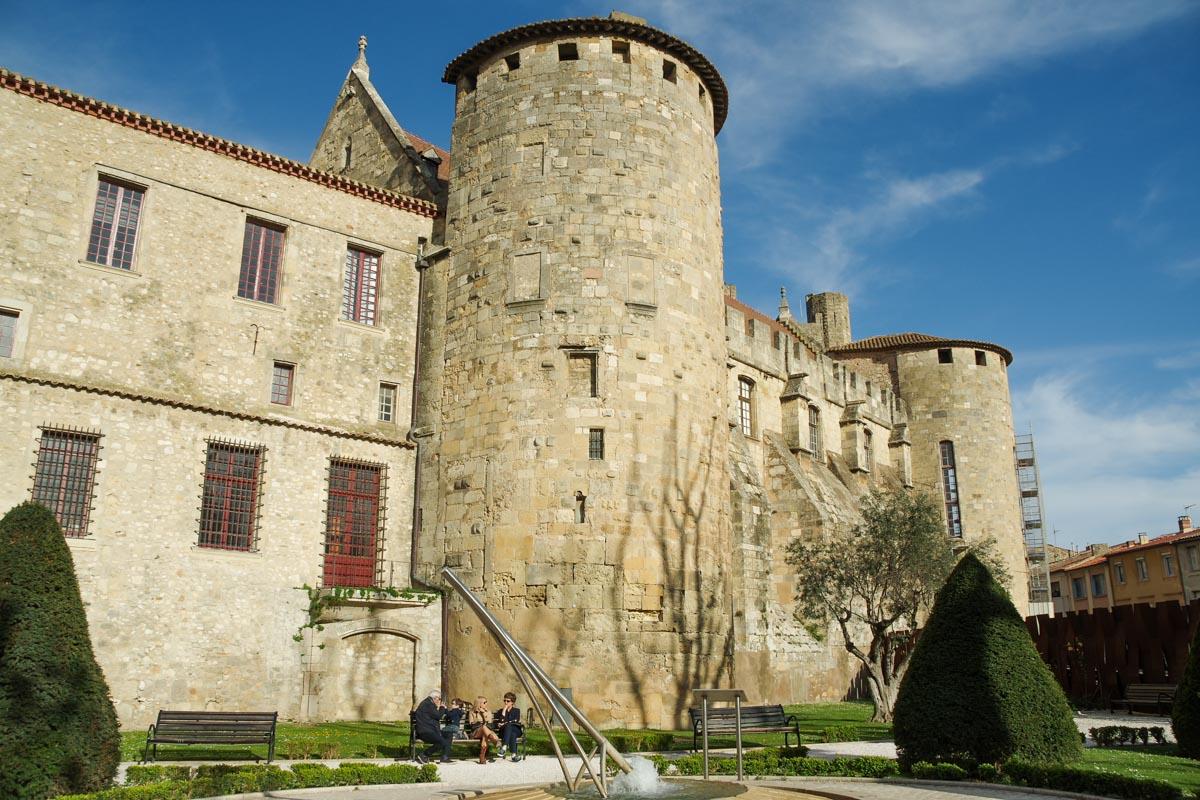 les jardins de l'archeveché à Narbonne
