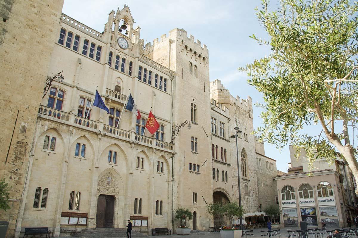 le palais de l'Archevêché à Narbonne