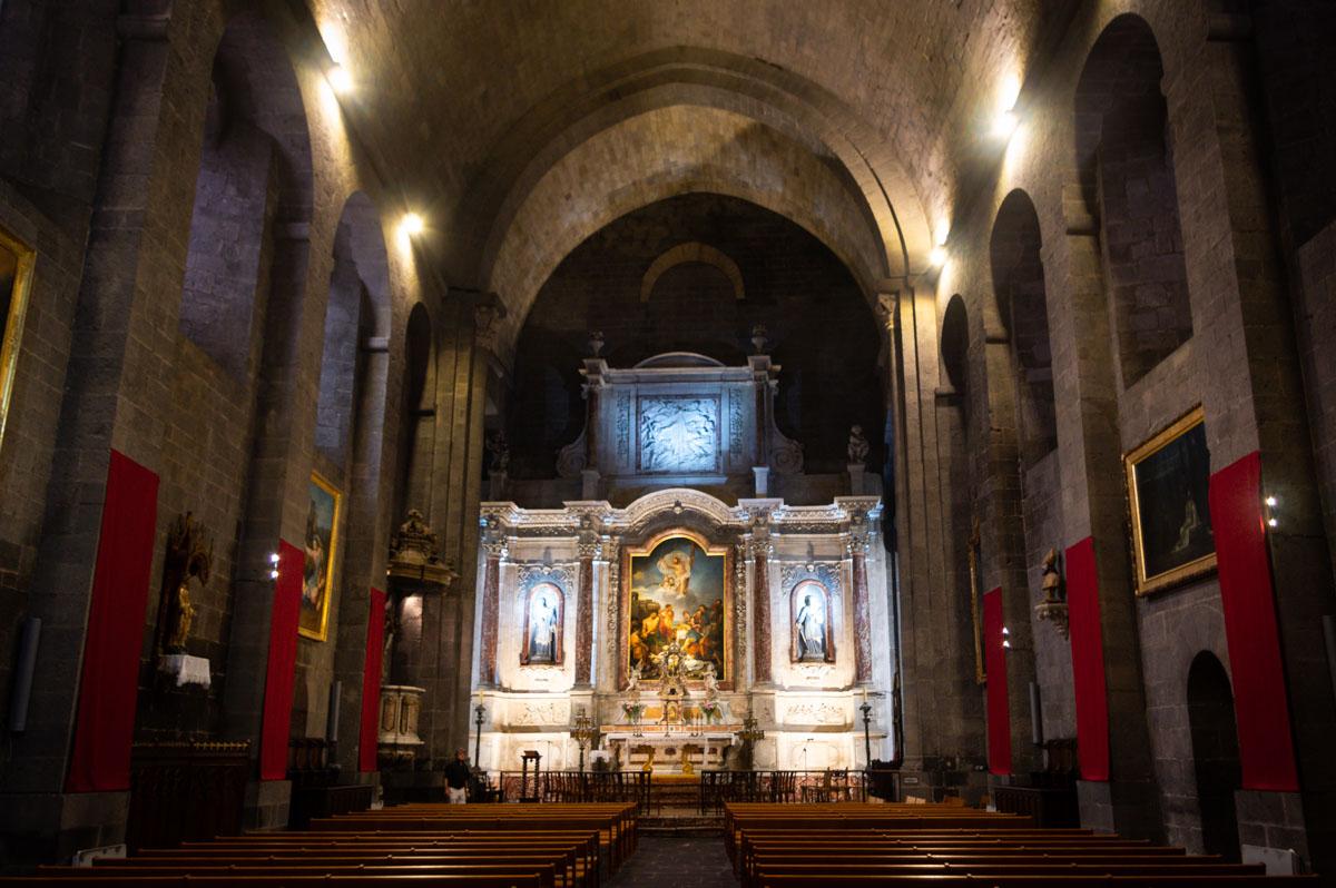 Intérieur de la cathédrale d'Agde