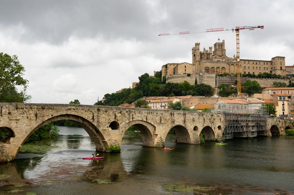 panorama sur Béziers