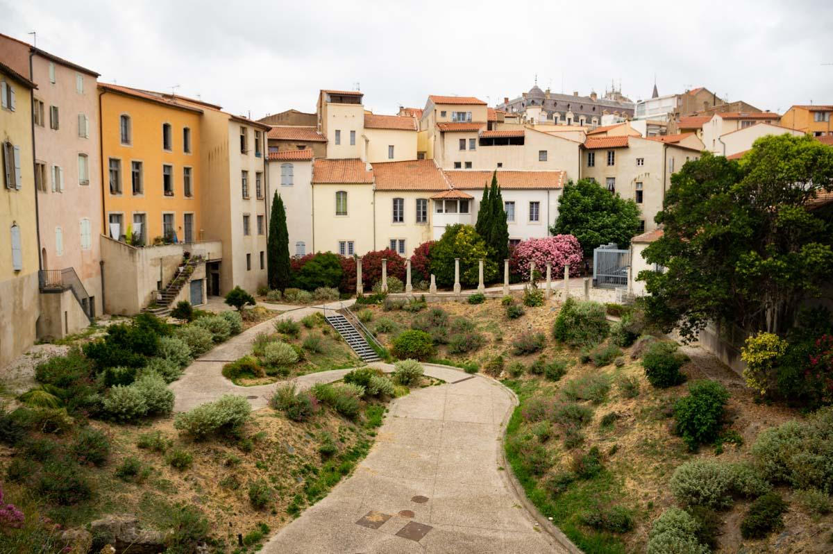 l'amphithéatre romain de Béziers