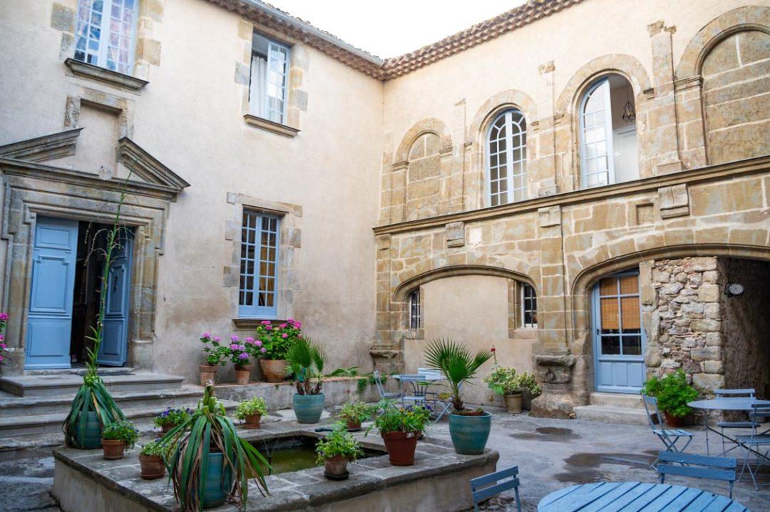 chambres d'hotes du Chateau de Puicheric dans l'Aude
