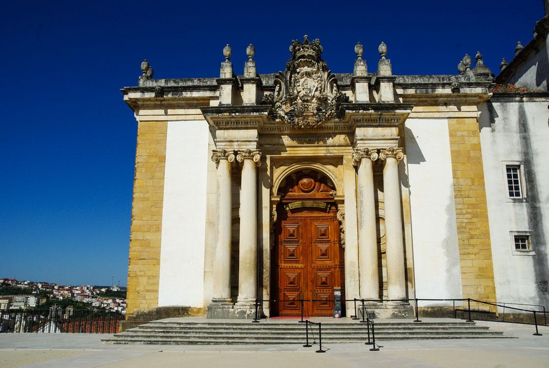 Portes de la bibliothèque de Coimbra