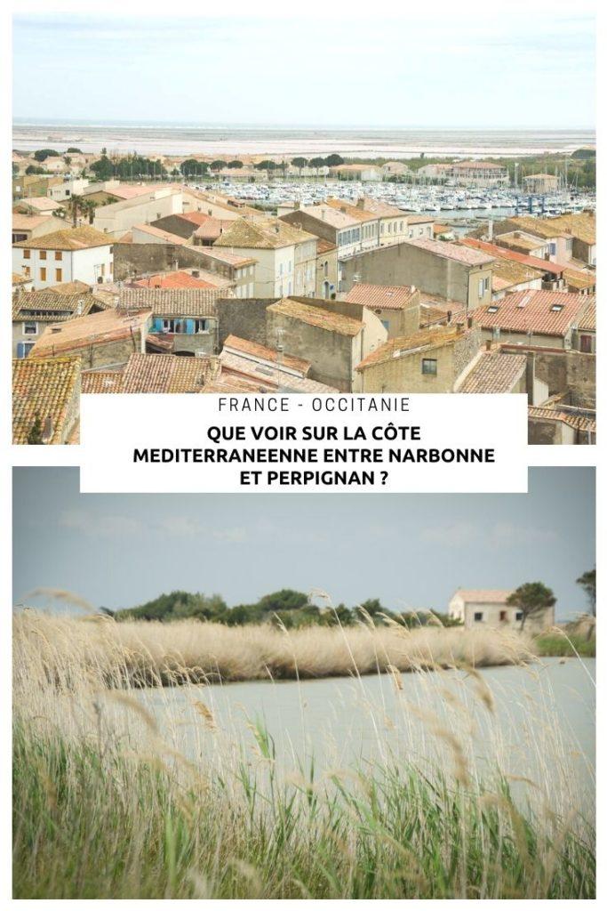 Que voir sur la côte méditerranéenne entre Narbonne et Perpignan ?