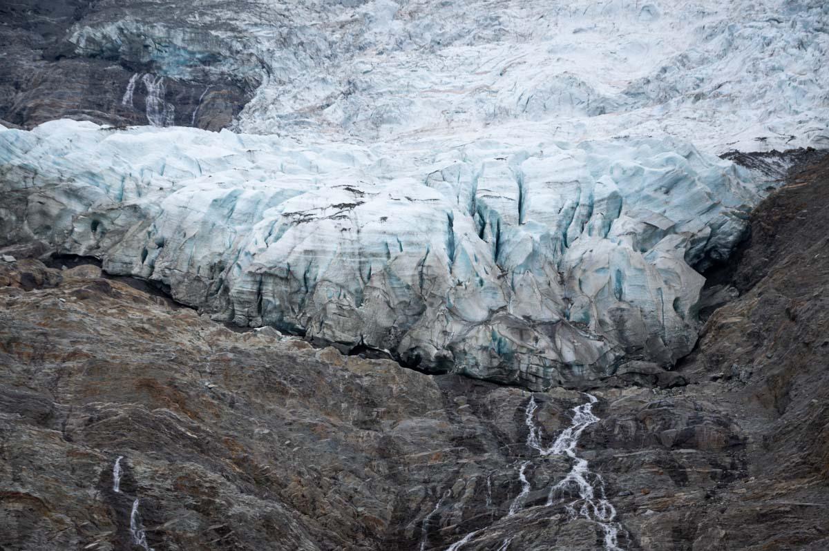 Le Glacier des Bossons près de Chamonix