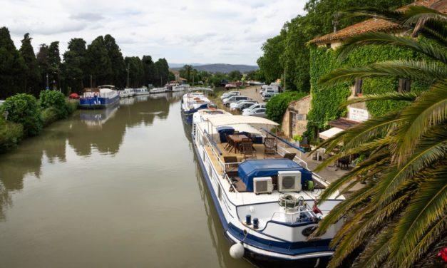 Le canal du Midi à velo entre Sète et Carcassonne