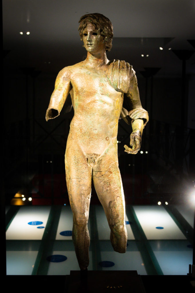 le musée de l'Ephebe au Cap d'Agde