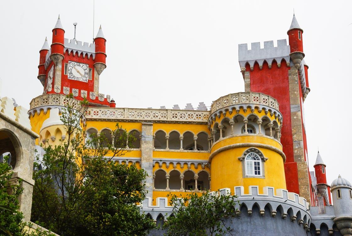 le Palais de Pena à Sintra