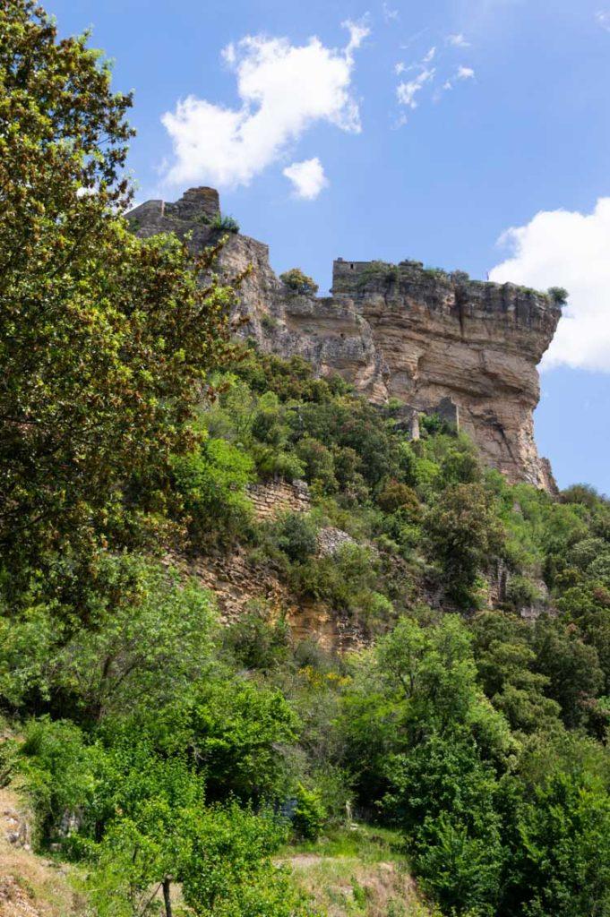 le chateau de Peyrelade en Aveyron