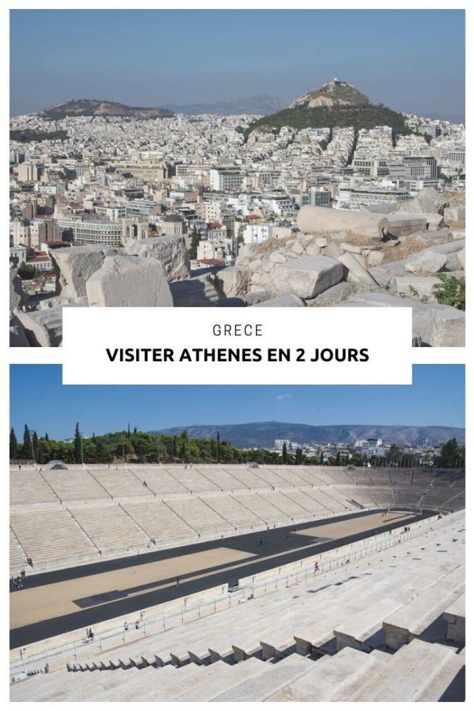 que faire et que voir à Athènes en 2 jours ? Les visites incontournables avec le Parthénon, le quartier de Plaka, le Temple de Zeus ou encore le Stade Panathénaïque