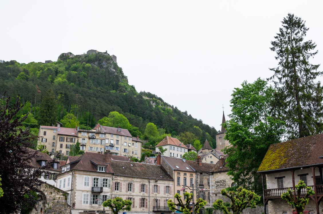 Salins les Bains dans le Jura