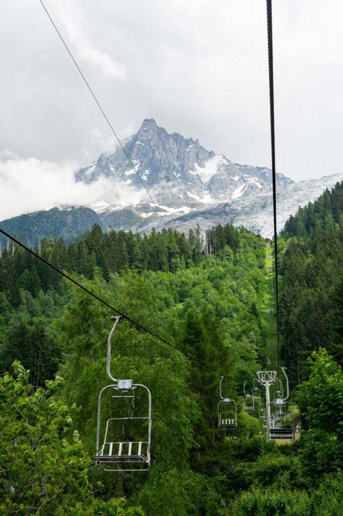 Télésiège du Glacier des Bossons