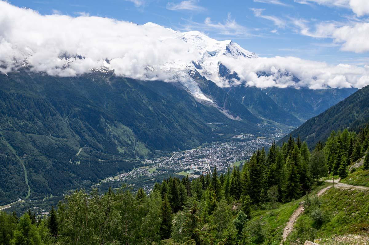 La Vallée de Chamonix et le Mont Blanc