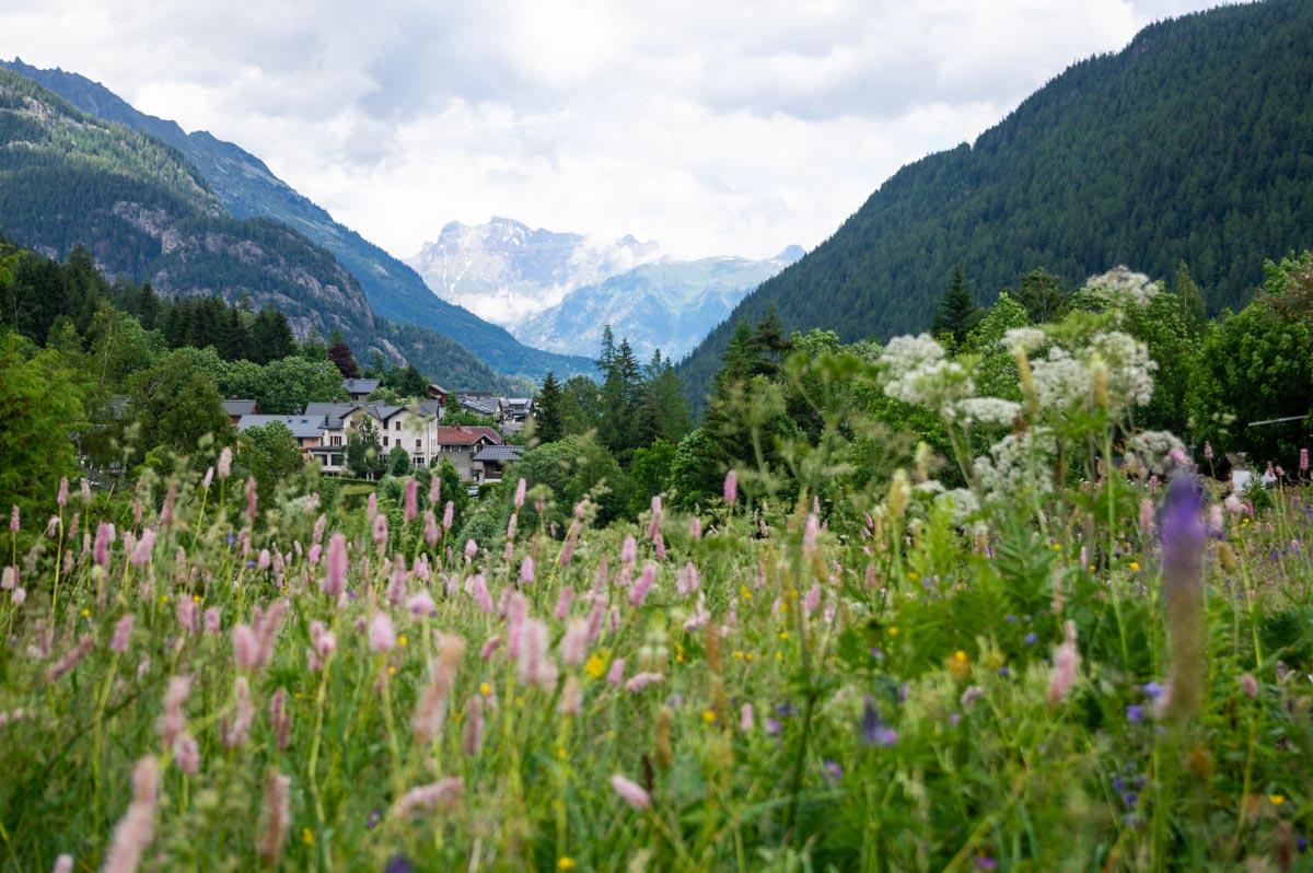 la vallée de Vallorcine près de Chamonix