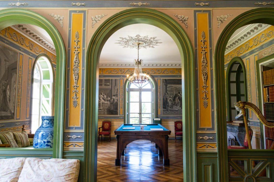 Salon de la Villa Palladienne de Syam