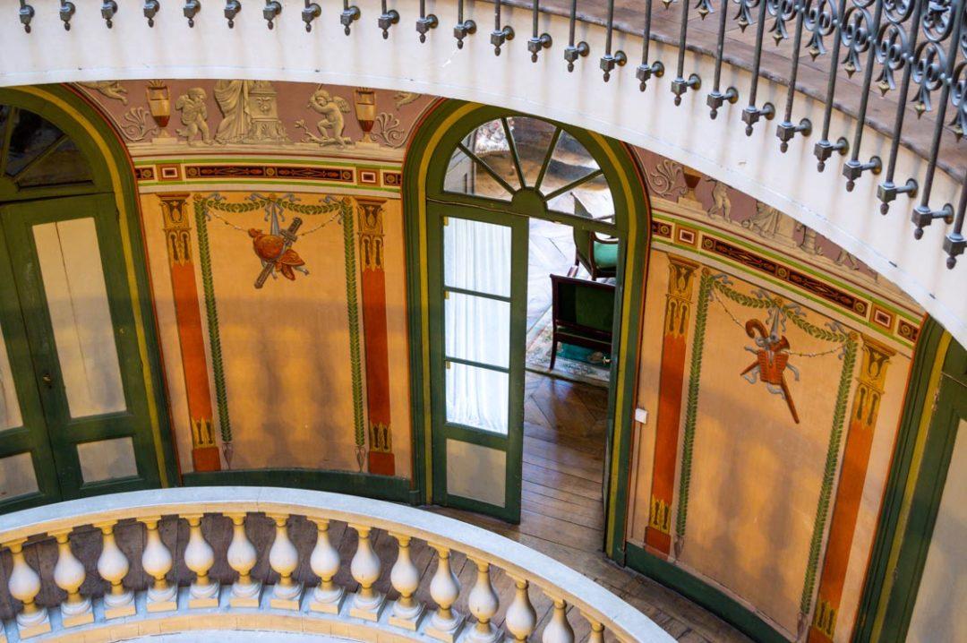 Visite de la Villa Palladienne de Syam dans le Jura