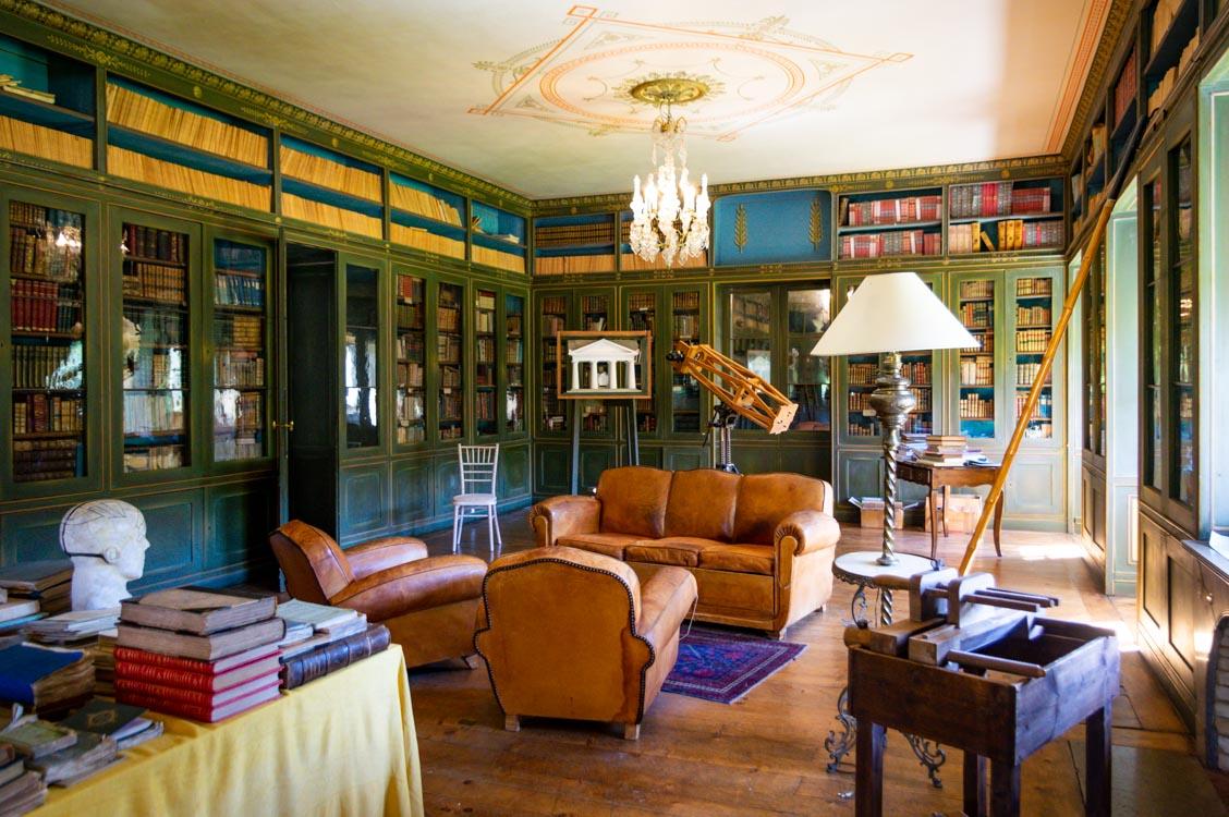 Bibliothèque de la Villa Palladienne de Syam
