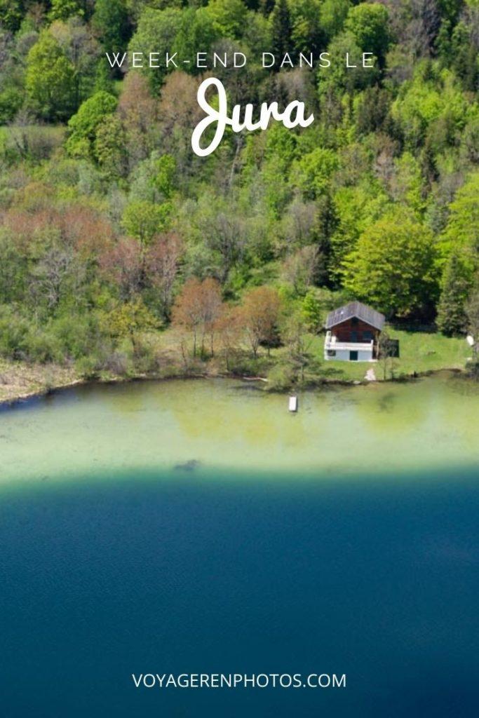 Que faire et que voir dans le Jura en un week end ? Randonnée dans la région des lacs et aux Cascades du Hérisson, visite de la Villa Syam et de la Grande Saline, dégustation de Comté