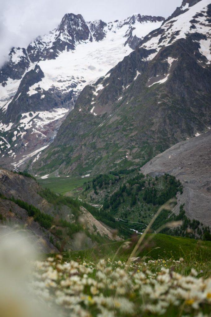 Le versant italien du Massif du Mont Blanc