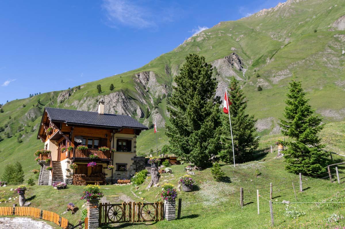un joli chalet suisse