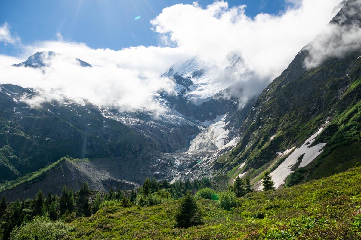 Le Glacier de Bionassay