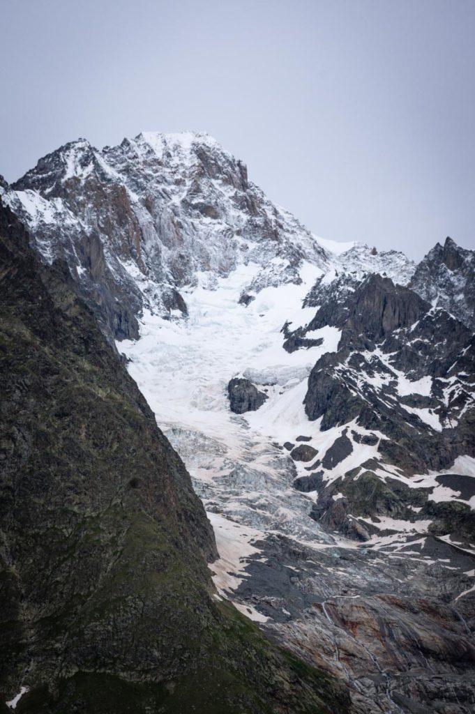 les glaciers du Mont Blanc