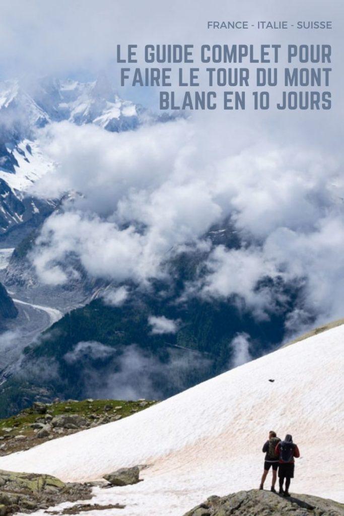 LE guide complet pour faire le Tour du Mont Blanc en 10 jours : itinéraires et conseils pratiques.
