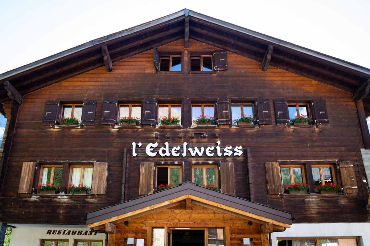 Hotel Edelweiss à La Fouly