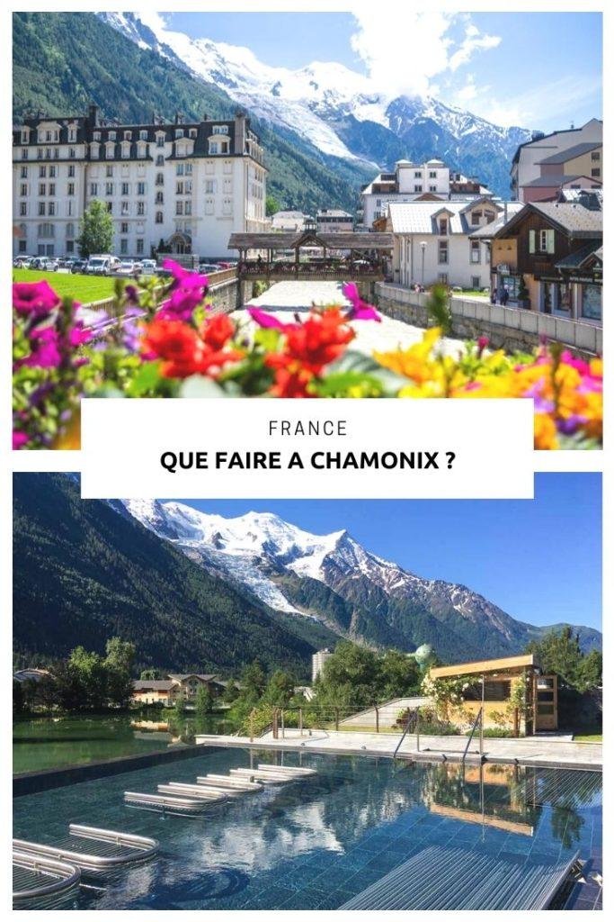 que faire et que voir dans la Vallée de Chamonix-Mont-Blanc