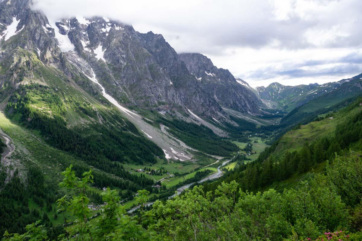 le Val Feret en Italie