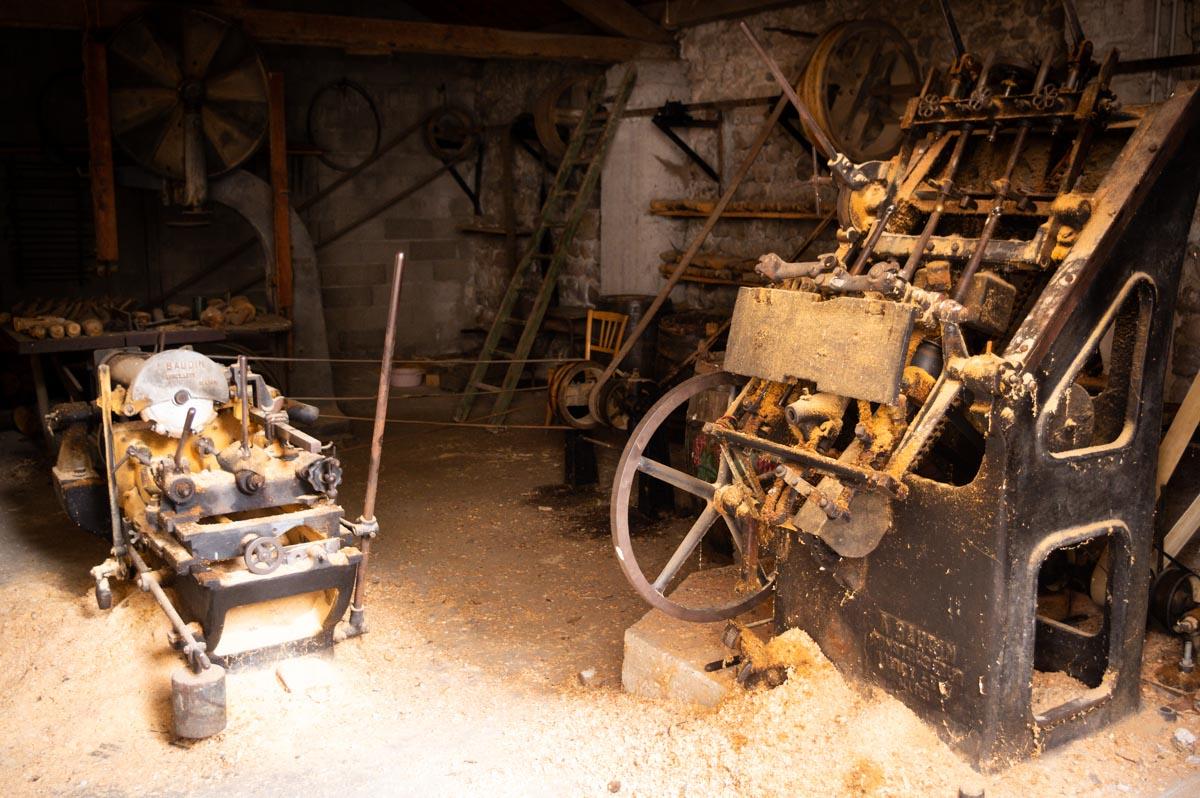 l'atelier du sabotier à Desaignes