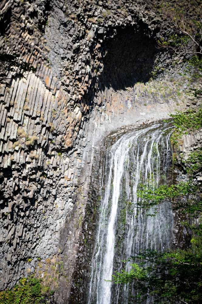 la cascade du Ray Pic et ses orgues basaltiques