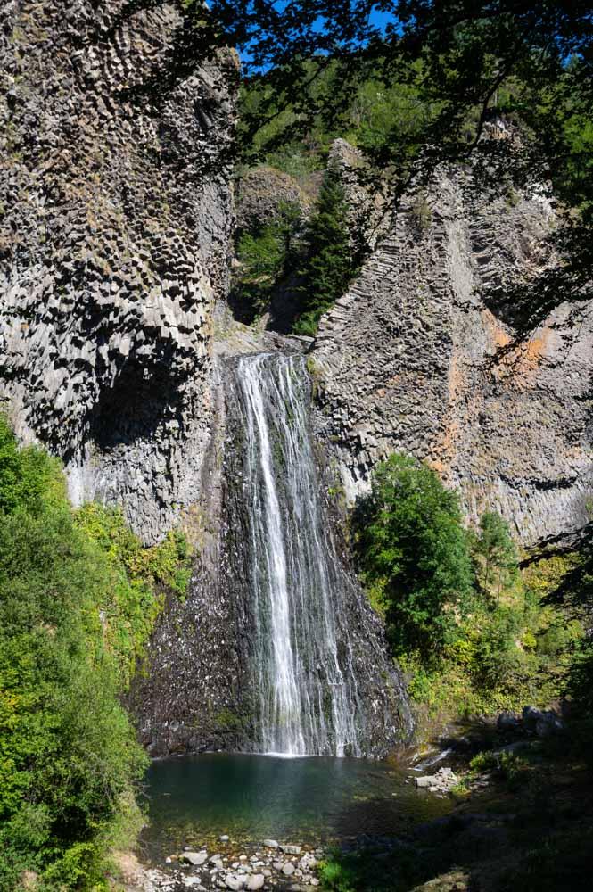 La cascade du Ray Pic en Ardèche
