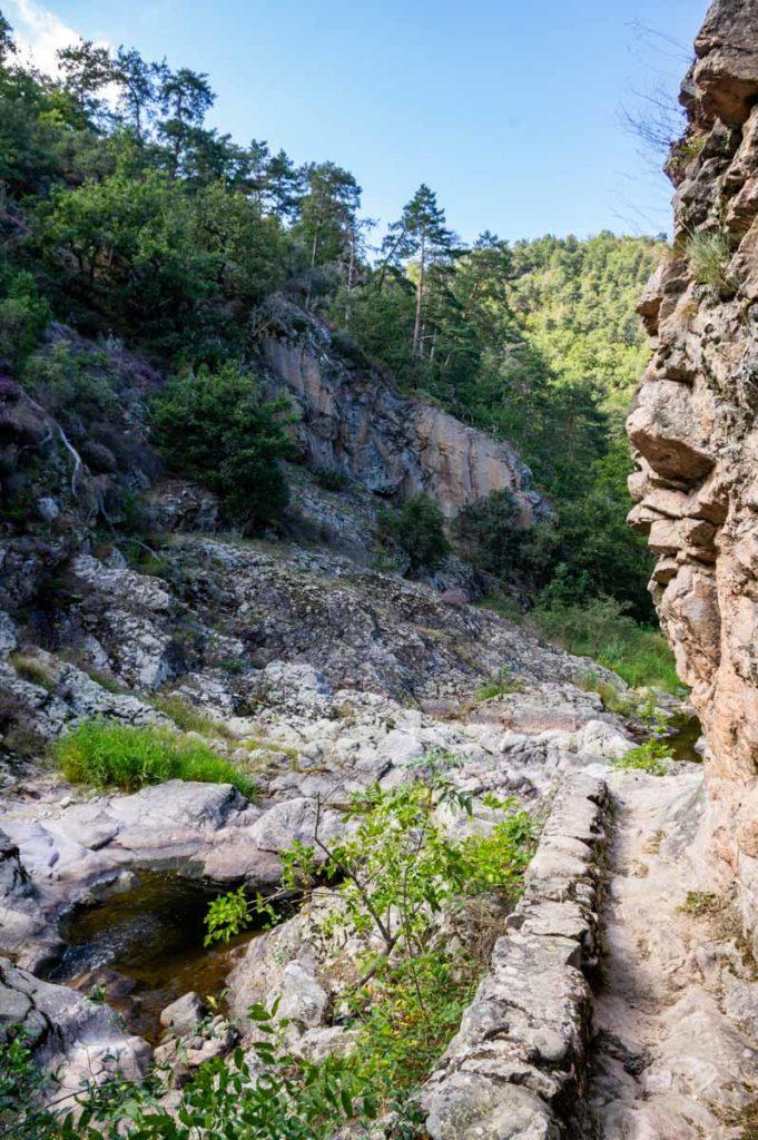 bassin dans les Gorges de la Daronne