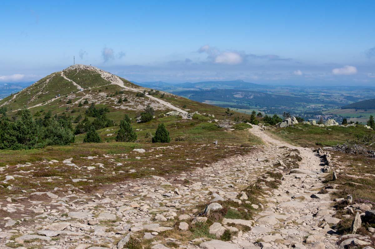 le mont Mezenc, sommet de l'Ardèche