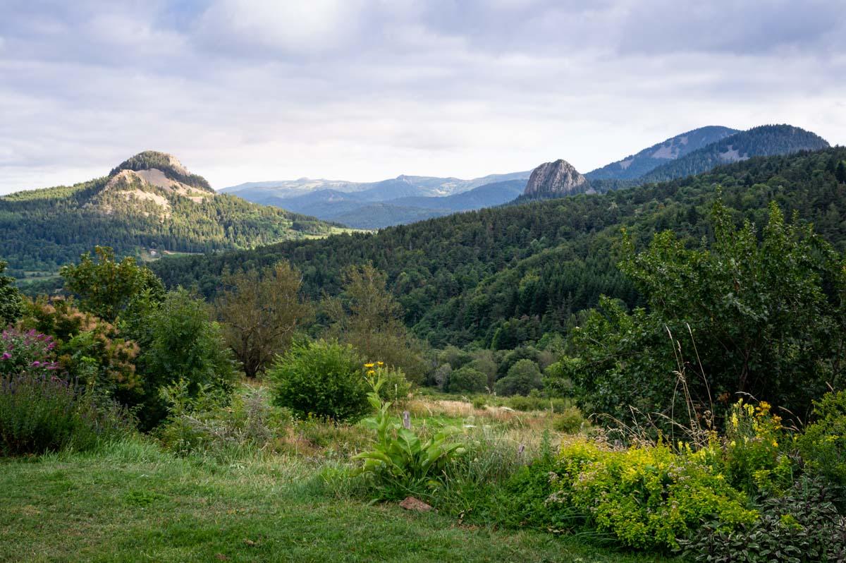 le Panorama depuis le Gite de la Retrouvade